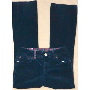 CHAPS girl's Navy Corduroy Pants
